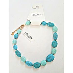 Ralph Lauren Turquoise Choker Necklace